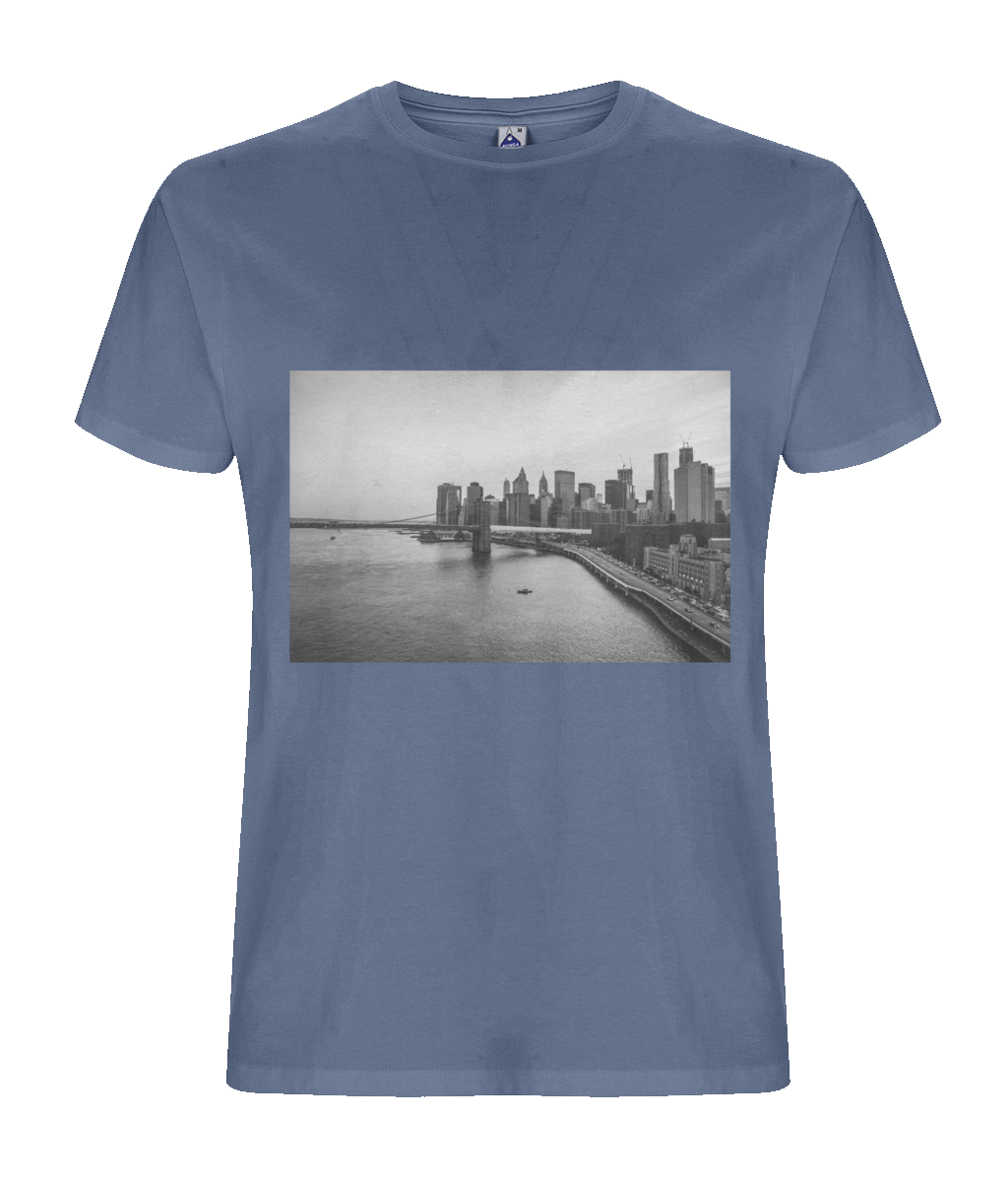 Men's T-shirt NYC - eco-wear-ltd