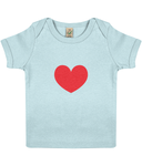Baby Lap T-shirt LOVE - eco-wear-ltd