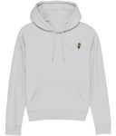 Embroidered Bee Organic hoodie - eco-wear-ltd