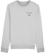 Embroidered Organic Sweatshirt Unisex - eco-wear-ltd