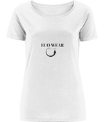 Women's Open Neck T-Shirt - eco-wear-ltd