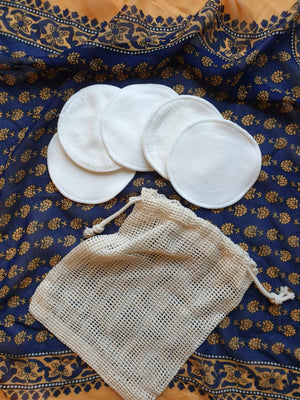 Reusable Make up remover pads - eco-wear-ltd