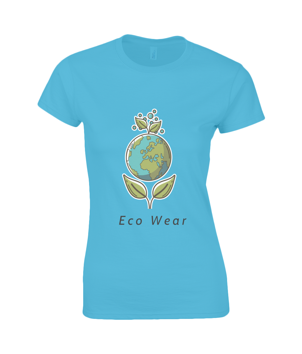 SoftStyle® Ladies T-Shirt - eco-wear-ltd