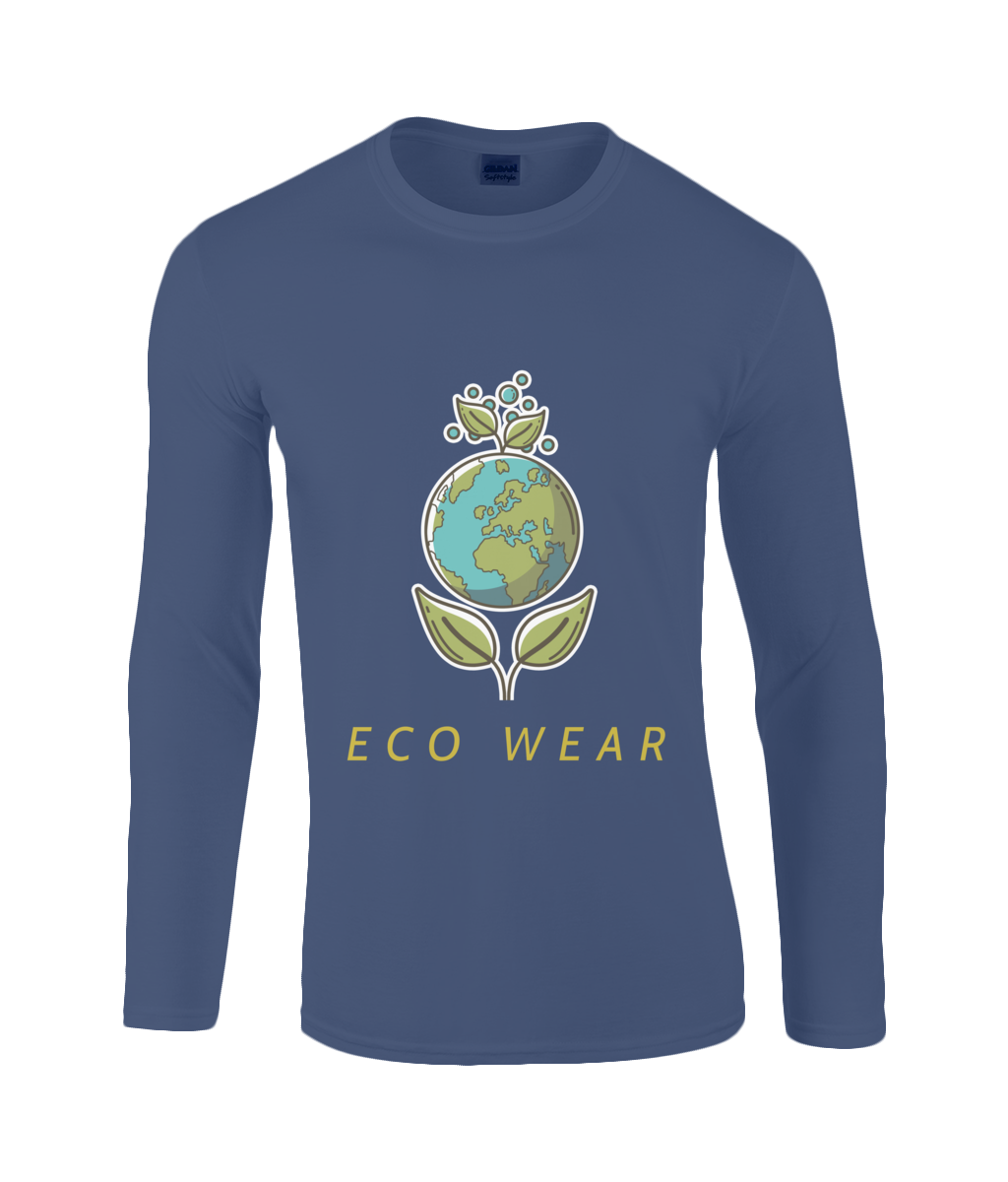 SoftStyle Long Sleeve T-Shirt | Eco Wear Ltd