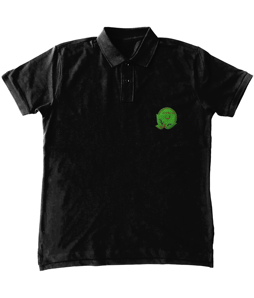 Embroidered Men's Standard Polo Shirt - eco-wear-ltd