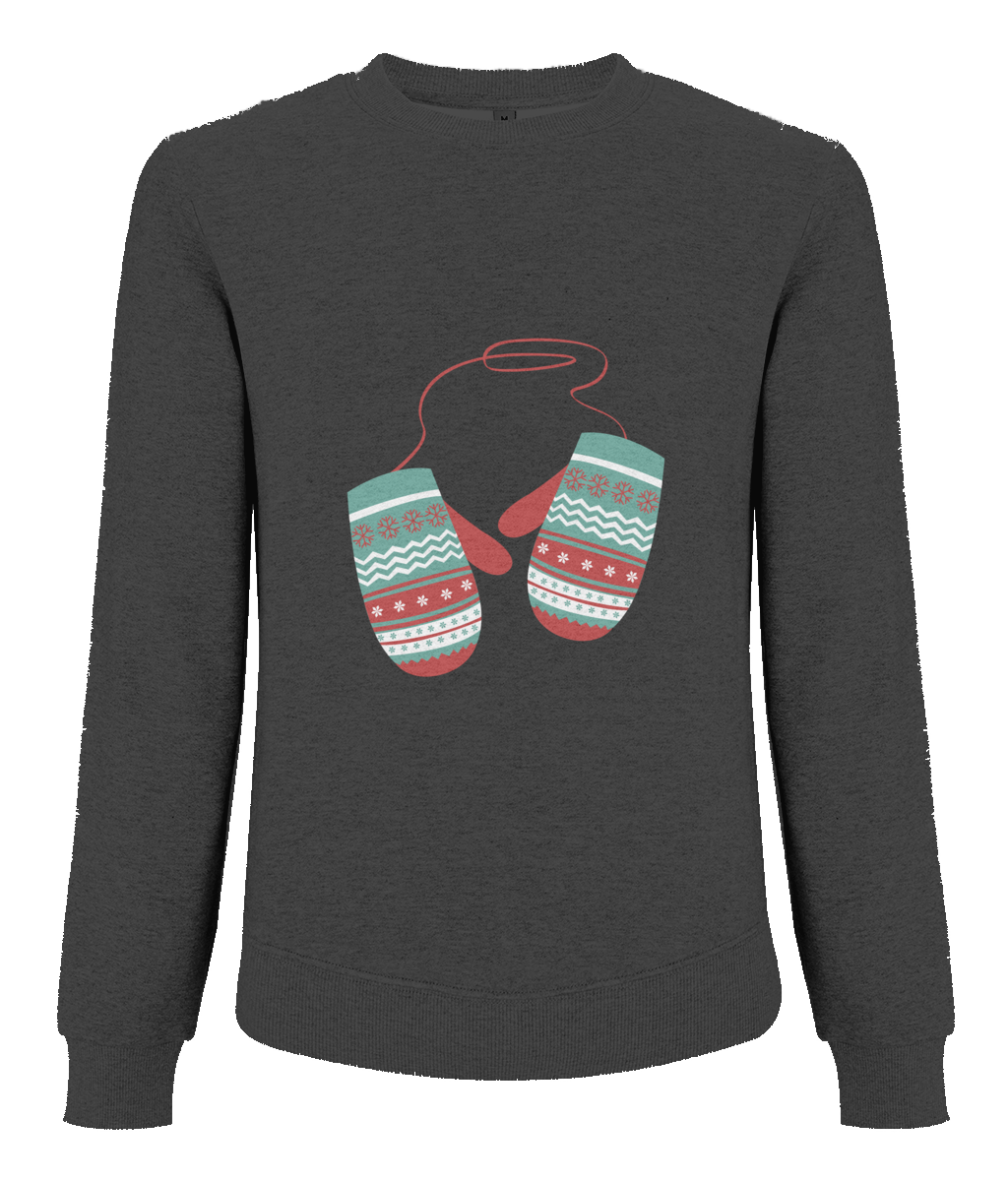 Raglan Organic Cotton Sweatshirt - eco-wear-ltd