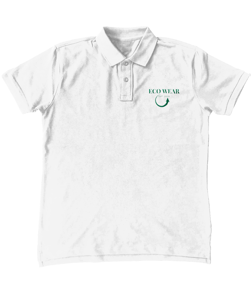 Men's Standard Organic Polo | Eco Wear Ltd