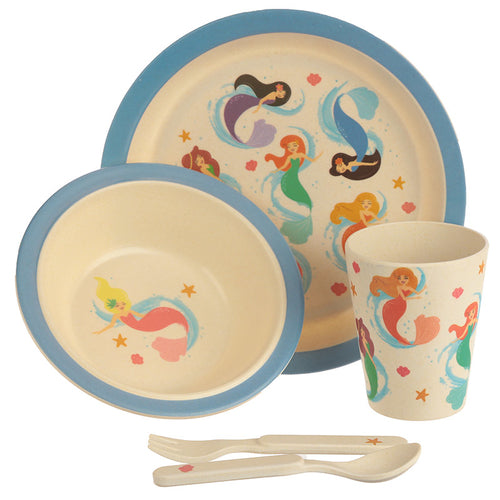 Eco Friendly Mermaid Dinner Set