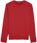 Embroidered Organic Sweatshirt | Eco Wear Ltd