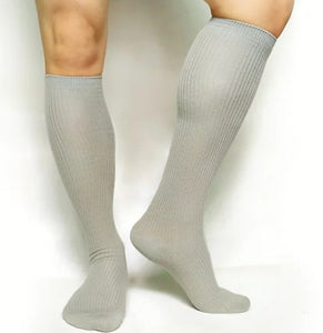 BV Light Grey OTC Socks - Ben Valiant Shop