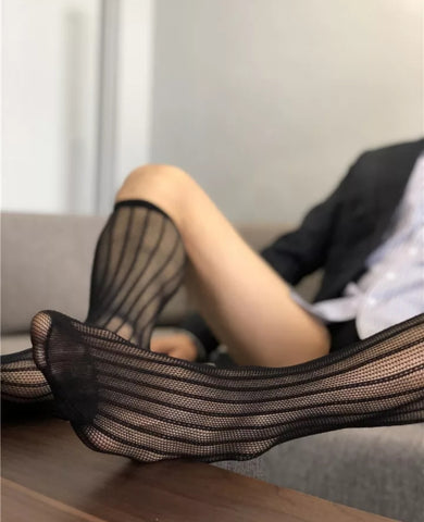 BV Python Sheer Socks - Ben Valiant Shop