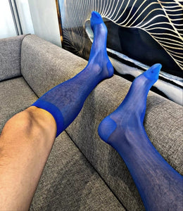 BV Ultra Blue Dress Socks - Ben Valiant Shop