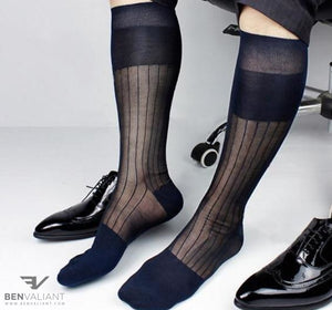 BV Formal Sheer Socks - Ben Valiant Shop