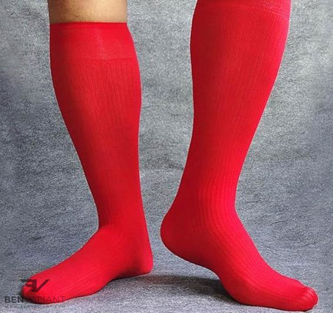 BV X Red OTC Socks - Ben Valiant Shop