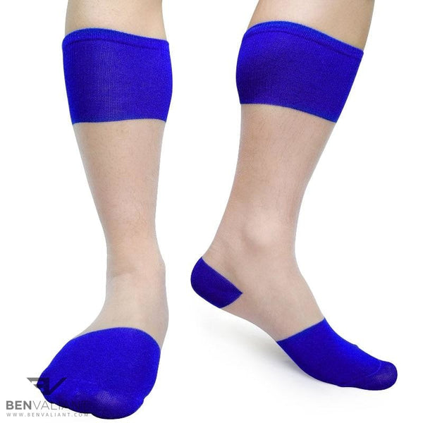 BV White Thin Socks - BV Creative Shop