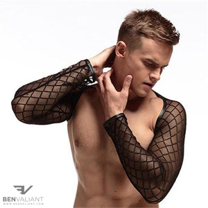 BVC Men Sheer Top - BV Creative Shop