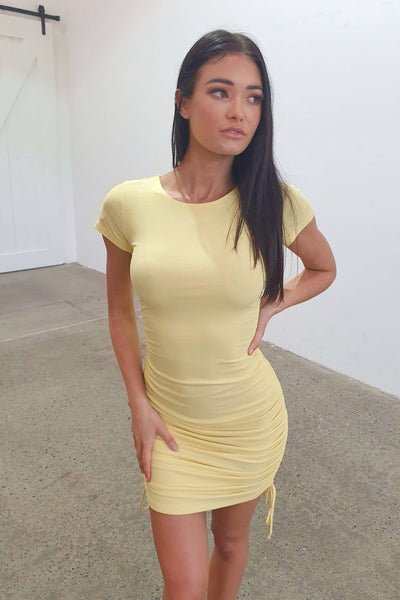 GOT THE LOVE DRESS - YELLOW