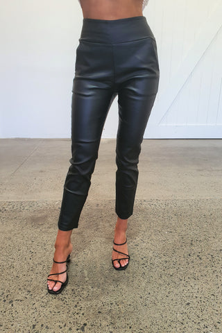 ALICIA PANTS  - BLACK