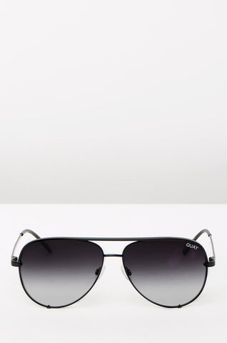 QUAY SUNGLASSES HIGH KEY (BLACK FADED)