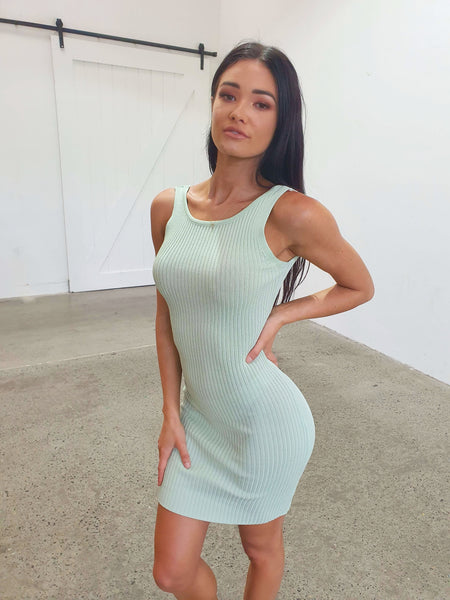 SHAY DRESS - MINT