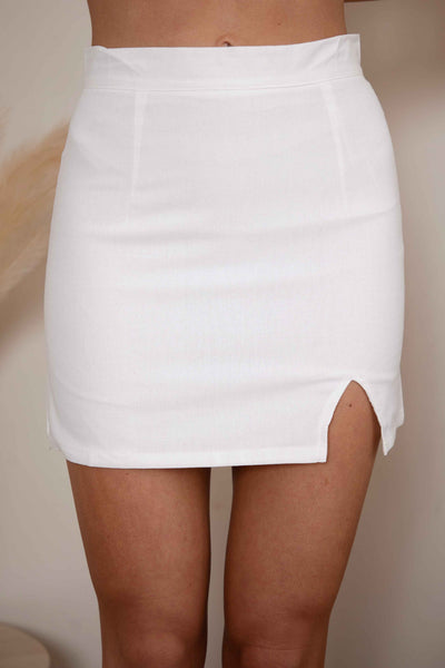 ON YOU SKIRT - WHITE