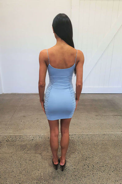 BIG DREAMS DRESS - BLUE