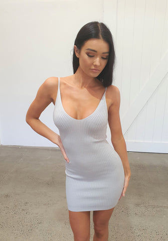 SOUL DEEP DRESS - GREY