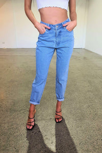 ANDY BOYFRIEND JEAN - LIGHT DENIM