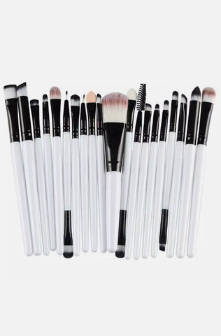 20x Makeup Brush Set Cosmetic Brushes