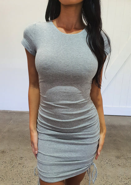 Got The Love Dress - Grey