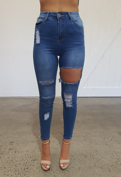 Spring Fever Jeans - Denim