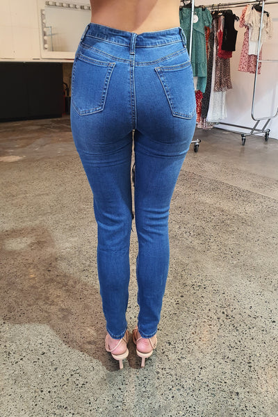 Honey Jean - Dark Denim