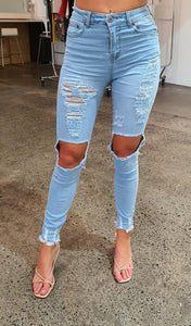 Honey Jean - Light Denim