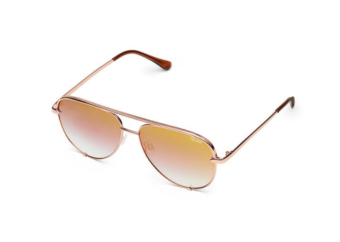 QUAY SUNGLASSES HIGH KEY (ROSE/CPRFD)
