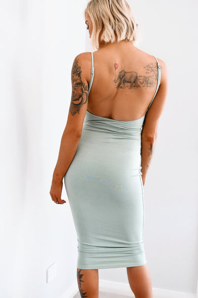 LUXE RANGE / Forever Midi Dress - Sage