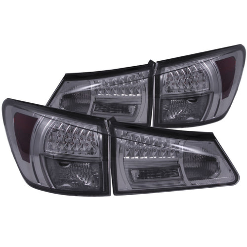 ANZO 2006-2008 Lexus Is250 LED Taillights Smoke - 321249