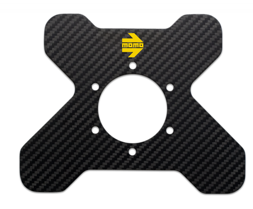 MOMO Carbon Fiber Steering Wheel Switch Plate