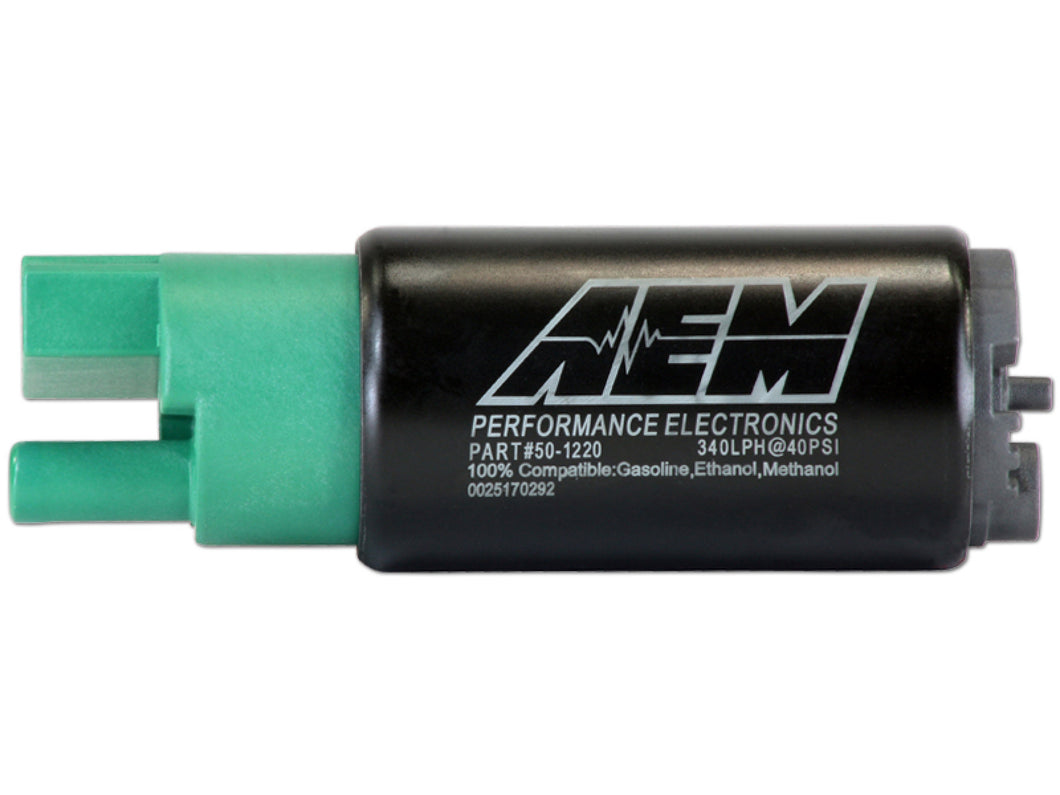AEM 340lph E85-Compatible High Flow In-Tank Fuel Pump