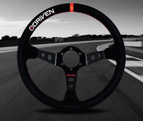DRIVEN Motorsport 13.5″ Deep Dish Steering Wheel
