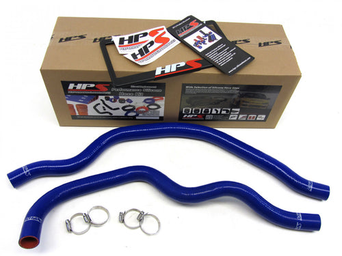 HPS Honda 00-09 S2000 AP1 AP2 High Temp Reinforced Silicone Radiator Hose Kit Coolant OEM Replacement - Blue