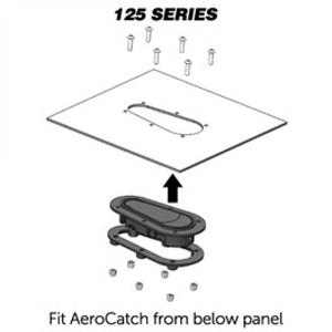 AeroCatch 125-2100 Locking Hood Pins