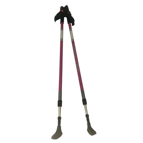 Balance Walking Poles (Pair) - Susan G. Komen Dark Pink Adjustable