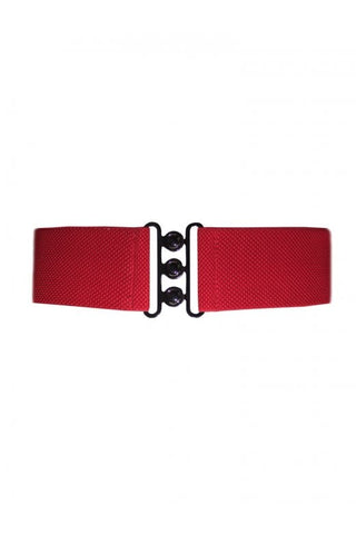 Nessa Clinch Belt - Red