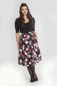 Queen of Hearts 50's Swing Skirt