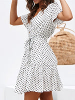 V Neck Women Summer Dresses Shift Daily Casual Dresses