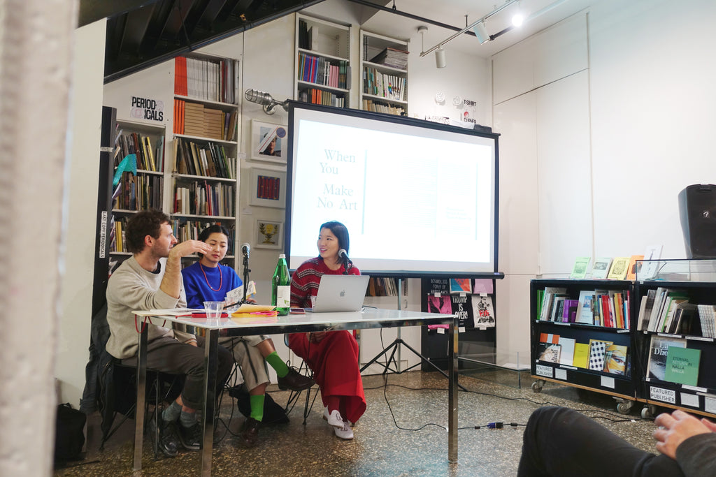 Book Launch with Wen-You Cai at Printed Matter