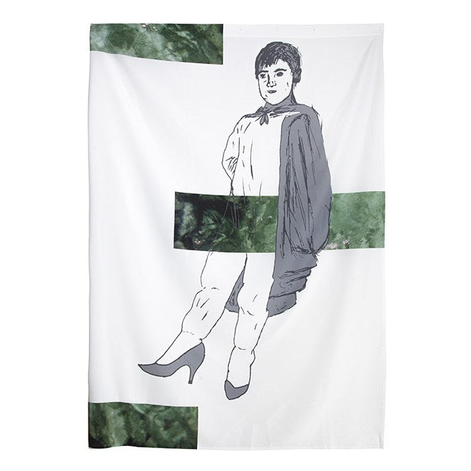 Special Special Edition No. 7 <br> John Belknap <br> Shower Curtain <br> 2018