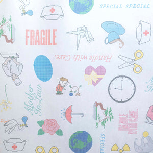 Special Special Edition No. 28 Handle with Care Gift Wrap