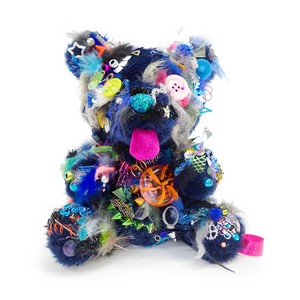 Your Bear no.31 Dark Blue/Silver <br> Sebastian Masuda <br> 2018