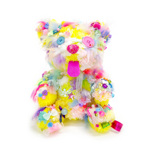 Your Bear no.33 Yellow <br> Sebastian Masuda <br> 2018